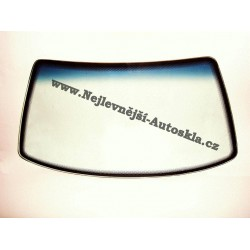 Čelní sklo / přední okno Hyundai Lantra II - zelené, modrý pruh