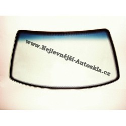 Čelní sklo / přední okno Mazda Tribute - zelené, modrý pruh